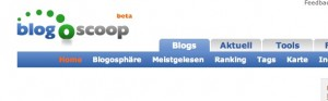 blogoscoop Screenshot