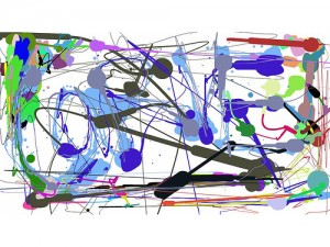 flickr Abstract Logo No. 1 by Jackson Pollock carveconsulting