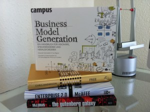 "Foto vom Buch ""Business Model Generation"""