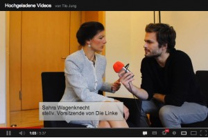 Screenshot aus YouTube zu Jung & Naiv