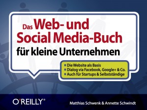 Cover-Entwurf Social Media Buch Stand Dezember 2012